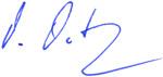 Unterschrift Muth