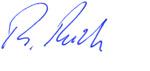 Unterschrift Reich